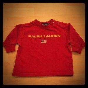 RALPH LAUREN Polo Sport Long Sleeves Shirt, EUC